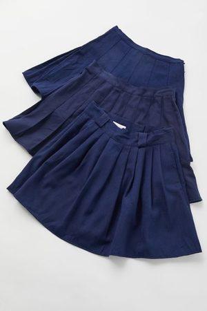 Urban Renewal Women Mini Skirts - Recycled Solid Pleated Mini Skirt