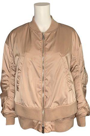 Moncler Women Leather Jackets - Biker jacket