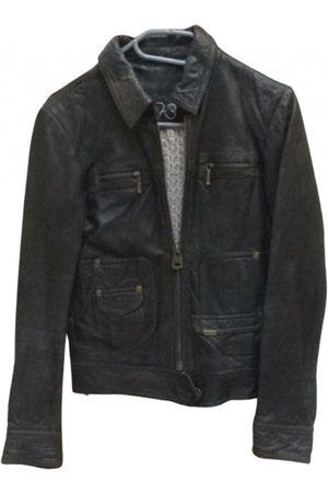NAF NAF Women Leather Jackets - Leather biker jacket