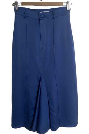 DEITAS Silk mid-length skirt
