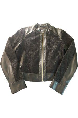 GUESS Vegan leather biker jacket