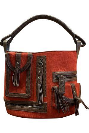 Kenzo Pagodon leather handbag