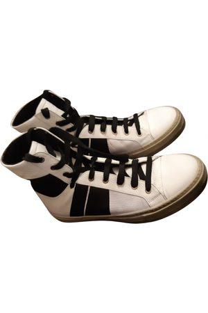 Amiri Leather high trainers