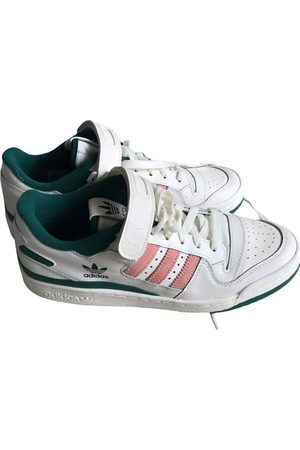 adidas Leather low trainers