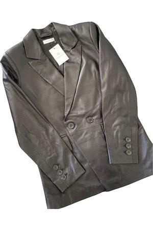 ANINE BING Leather blazer