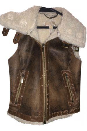 Michael Kors Leather short vest