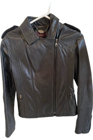 MULBERRY Women Leather Jackets - Leather biker jacket