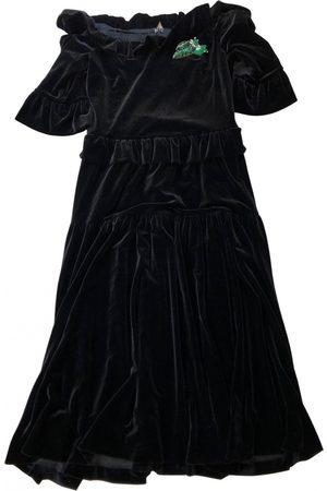 VIVETTA Velvet mid-length dress