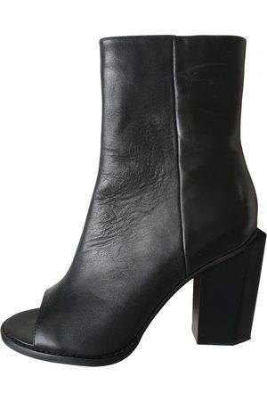 Alias Mae Leather open toe boots