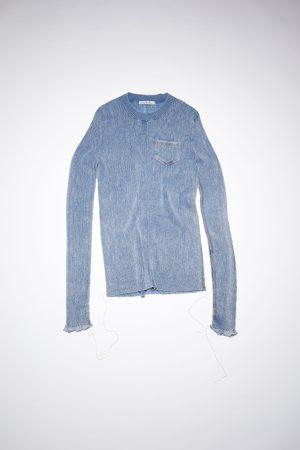 Acne Studios FN-WN-KNIT000391 Denim wash sweater