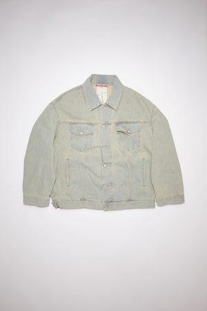 Acne Studios Men Denim Jackets - FN-UX-OUTW000015 /beige Oversized denim jacket