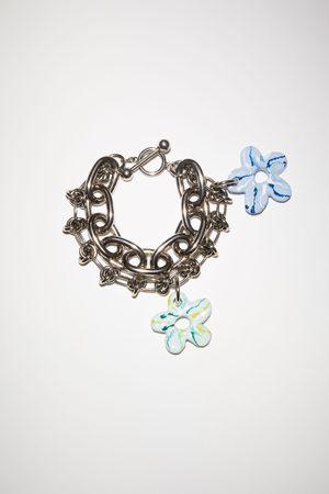 Acne Studios FN-UX-JEWE000226 /light blue Flower bracelet