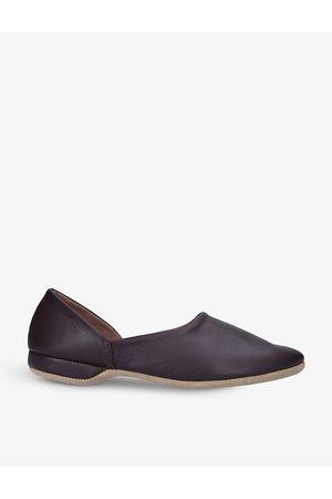 Derek Rose Gower lined leather slippers