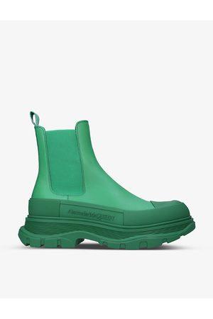 Alexander McQueen Tread Slick tonal leather Chelsea boots