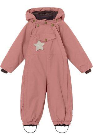 Mini A Ture Kids - Wisti Suit M Wood Rose - 9m/74cm - - Winter coveralls