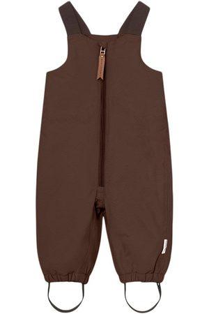 Mini A Ture Kids - Walenty Pants M Dark Choco - 12m/80cm - - Ski pants and salopettes