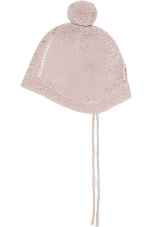 Mini A Ture Kids - Fillie Hood BM Shadow Rose - 0-6 Months - - Baby beanies