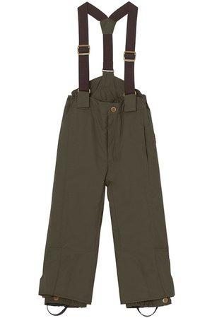 Mini A Ture Kids - Witte Pants K Deep Depths - 4y/104cm - - Ski pants and salopettes