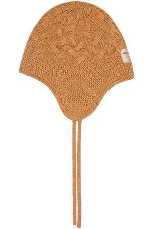 Mini A Ture Kids - Gill Hood Solid BM Hazel - 0-6 Months - - Baby beanies