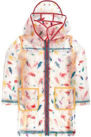 Sonia by Sonia Rykiel Kids - Logane Transparent Raincoat - 2 years - - Raincoats