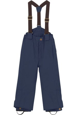 Mini A Ture Ski Suits - Kids - Nights Witte Ski Pants - 4y/104cm - Navy - Ski pants and salopettes