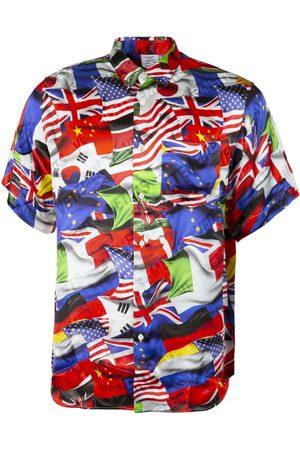 Vetements Flags Fluid Short Sleeve Shirt