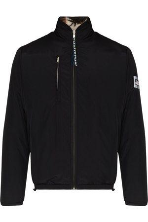 ARIES Reversible Patchwork Fleece Zip Jacket