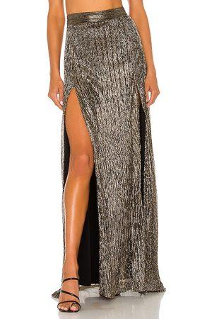 Nookie X REVOLVE Alchemy Skirt in Metallic Gold, .