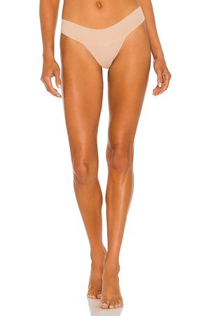 Hanky Panky Eve Natural Rise Thong in Neutral.
