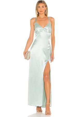 ELLIATT Sloane Maxi Dress in Sage.