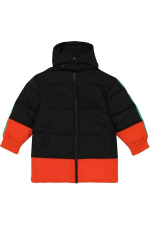 Stella McCartney Logo colorblocked padded coat