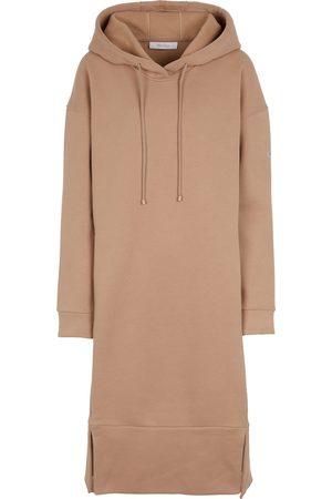 Max Mara Leisure Pilard cotton-blend sweatshirt dress