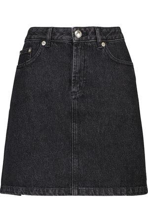 A.P.C. Jupe Standard denim miniskirt