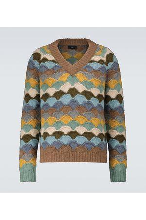 Alanui Rainbow Mountain alpaca-blend sweater