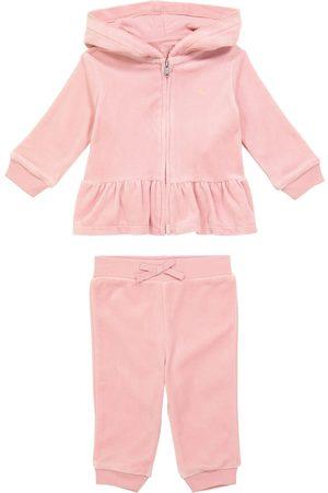 Ralph Lauren Baby zipped sweatshirt and pants set