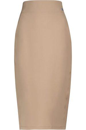 Max Mara Leisure Bleu high-rise pencil skirt