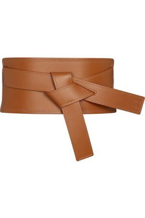 LOEWE Gate leather belt