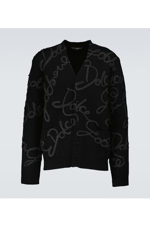 Dolce & Gabbana Embroidered wool-blend cardigan