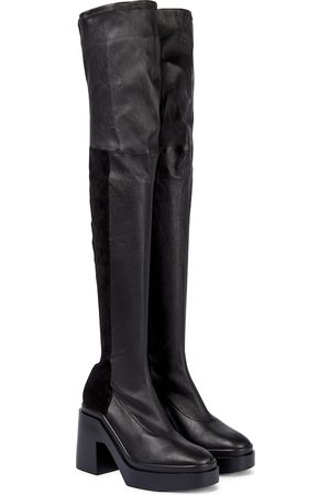 Clergerie Naelle leather over-the-knee boots