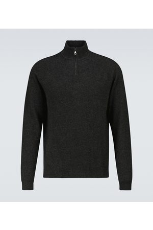 Derek Rose Finley 2 half-zipped cashmere sweater