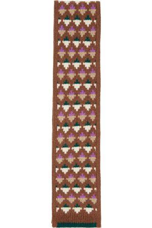 Caramel Ibsen merino-blend scarf