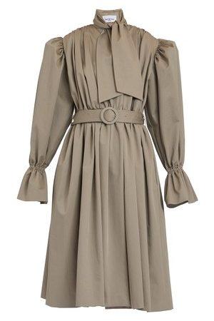 Balenciaga Trench Coat Dress