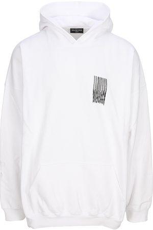 Balenciaga Men Hoodies - Barcode hoodie