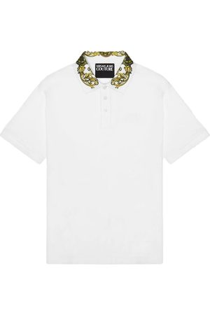 Versace Jeans Couture Versace Jeans polo wit 71gagt03 cj01t g03
