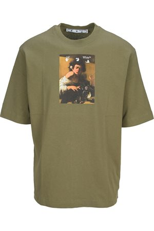 Off-White Men Short Sleeve - Caravaggio-print short-sleeve T-shirt
