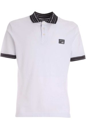 Versace Jeans Couture Versace Jeans Polo wit B3GWA7T136571L02