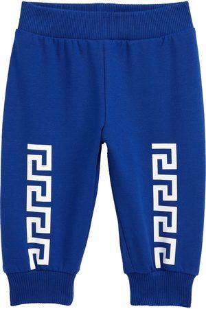 Versace Boys Sweatpants - Infant Boy's Greca Greca Stetch Cotton Joggers
