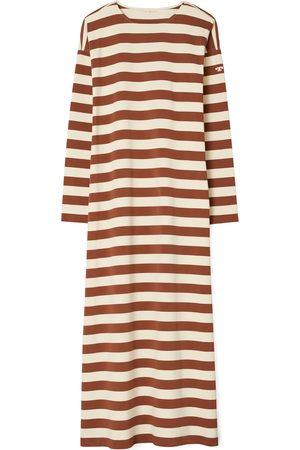 Tory Burch Women Long sleeves - Women's Stripe Long Sleeve Dress