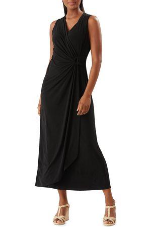 Tommy Bahama Women's Clara Wrap Front Sleeveless Dress