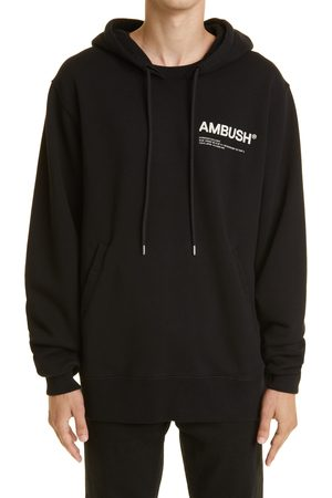 Ambush Men's Workshop Logo Cotton Fleece Hoodie